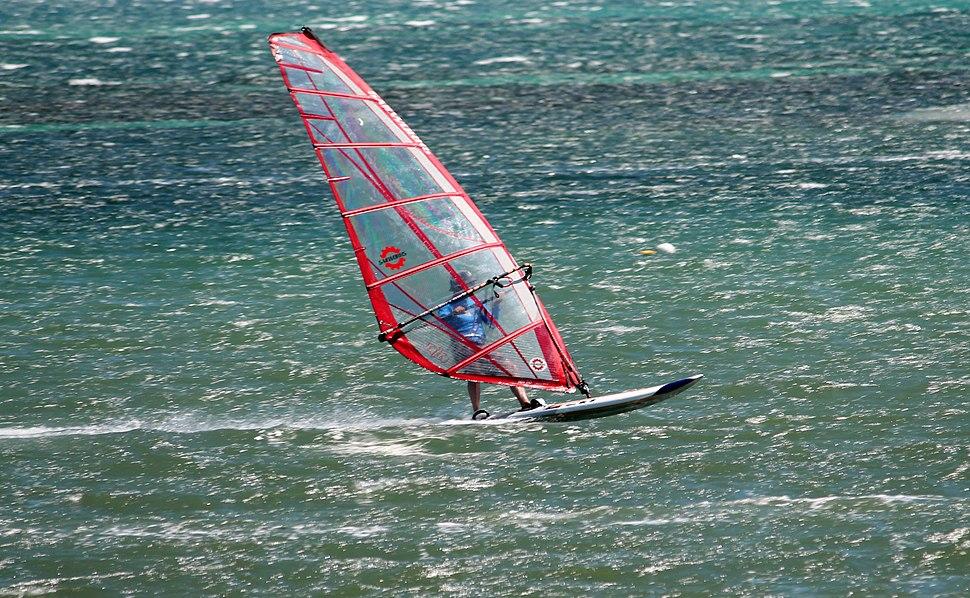 Windsurfing safety bay 8575