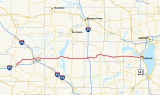 Wisconsin Highway 21 highway in Wisconsin