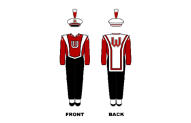 Wisconsin Marching Band Uniform.png