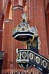 Wismar, St. Nikolai, die Kanzel m.JPG