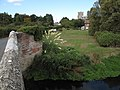Wiveton village and church from the bridge on the River Glaven - geograph.org.uk - 1514902.jpg