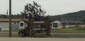 Saddle Hills County - Image: Woking, Alberta