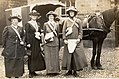 Women's Suffrage pilgrims en route for London during the National Union of Women's Suffrage Societies (NUWSS) Pilgrimage, 1913 (25756508998).jpg