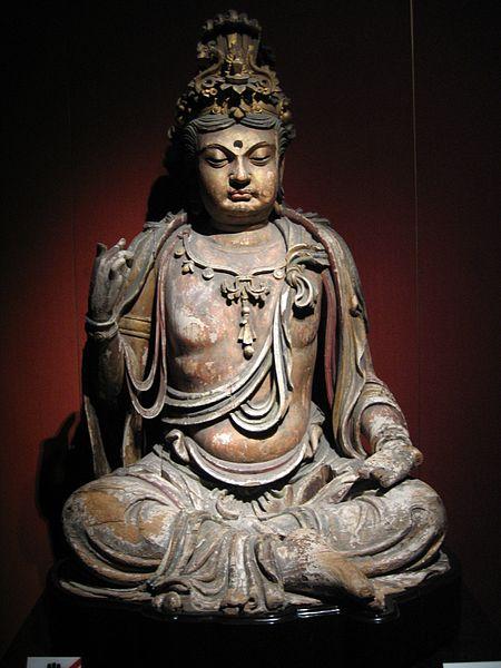 Vajarstvo kao umetnost 450px-Wood_Bodhisattva_2