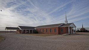Woodrow, Texas - One of four churches in Woodrow