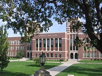 Wyandotte High School - Image: Wyandotte High School front