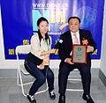 Xinhuanet interviewed Tom Hsu (4117140318).jpg