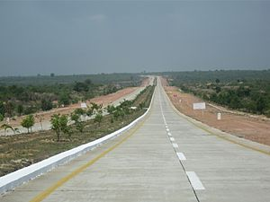 Yangon–Mandalay Expressway - Image: YMEW02