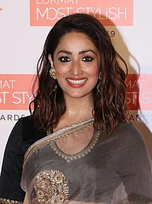 Yami Gautam at Lokmat Most Stylish Awards 2019 (7) (cropped).jpg