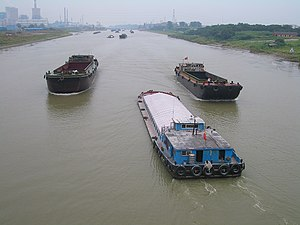 Jiangsu - On the Grand Canal near Yangzhou.