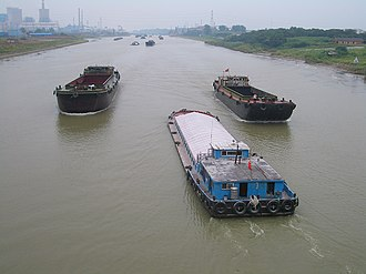Jiangsu - On the Grand Canal near Yangzhou.