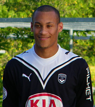 Yoan Gouffran - Gouffran playing for Bordeaux in 2008