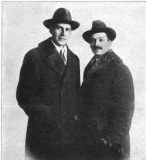 Pietro Yon - Pietro Yon with Charles M. Courboin