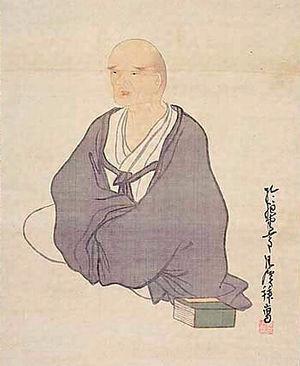 Yosa Buson - Yosa Buson, drawing by Matsumura Goshun