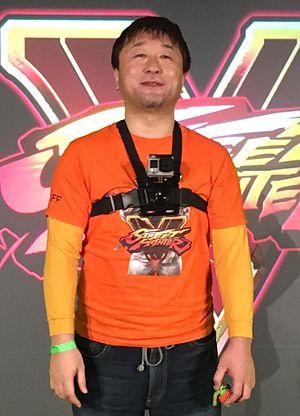 Yoshinori Ono (game producer) - Yoshinori Ono 2016 in Germany