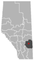 Youngstown, Alberta Location.png