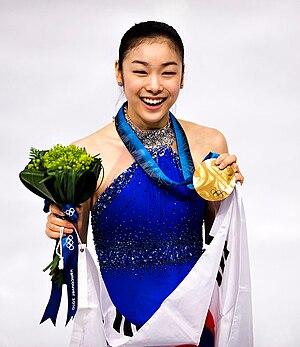 Yuna Kim - Kim at the Vancouver 2010 Winter Olympics