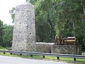 Yulee Sugar Mill Ruins Historic State Park - Ruins of a sugar mill at the park