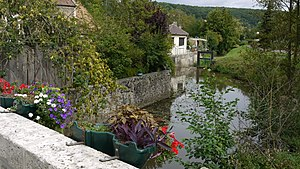 Chevreuse - The Yvette river at Chevreuse