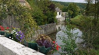 Chevreuse - The Yvette river at Chevreuse