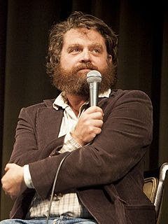 Zach Galifianakis American actor and comedian