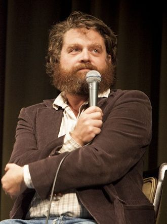 Zach Galifianakis - Galifianakis at the 2012 LA Pod Fest