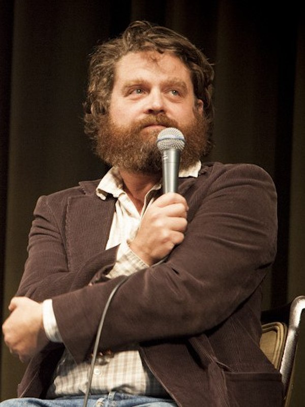 Photo Zach Galifianakis via Wikidata