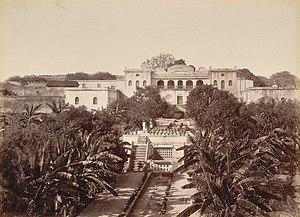 Zeb-un-Nissa - Zeb-un-Nissa's palace, 1880, Aurangabad.