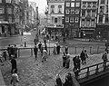 Zebraovergang in Amsterdam. Zebraovergang op de Munt, Bestanddeelnr 913-1215.jpg