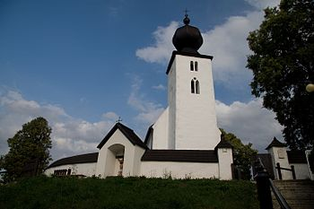 The Church of Holy Spirit in Žehra, Slovakia