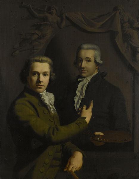 File:Zelfportret, wijzend naar het portret van zijn gestorven collega Dirk Jacobsz Ploegsma Rijksmuseum SK-A-1063.jpeg
