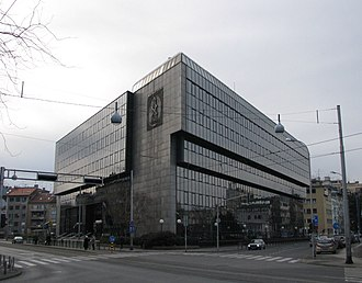Independence of Croatia - INA building on Šubićeva Avenue, Zagreb was selected for security reasons as the venue for parliament's declaration of independence on 8 October 1991