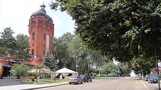 Zhytomyr - Old water tower in Zhytomyr