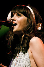 Zooey Deschanel of She & Him @ Terminal 5 08