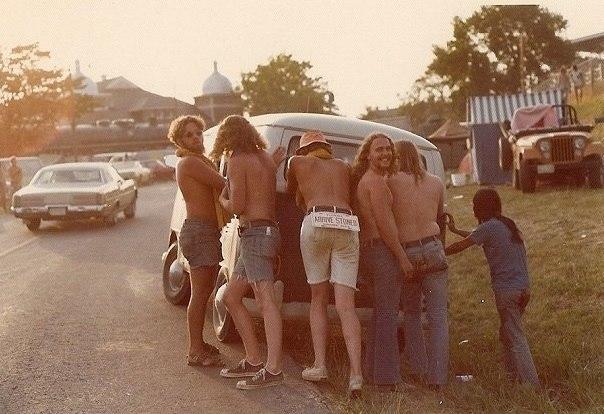 """""""Arrive Stoned"""", Ozark Music Festival, 1974"""