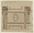 """Belcourt,"" monogram panel West side. LCCN2015645452.jpg"
