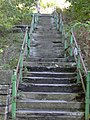 """""""Cat Steps"""" to Rochdale Road from Rockcliffe - geograph.org.uk - 1022027.jpg"""