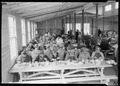 """Noon meal at the cafeteria at Norris townsite."" - NARA - 532809.tif"