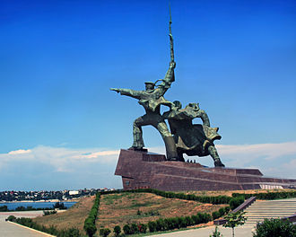 "Sevastopol - ""Soldier and Sailor"" Memorial to Heroic Defenders of Sevastopol"