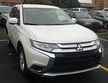 Mitsubishi Outlander restyling 2015