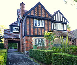 Home ownership in Australia - An Old English-style family home in suburban Sydney