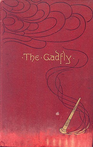 The Gadfly - First version of cover