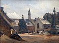 École française 19ème 1845c Daoulas, la chapelle Sainte Anne.jpg