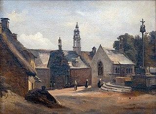 Daoulas, la chapelle Sainte Anne