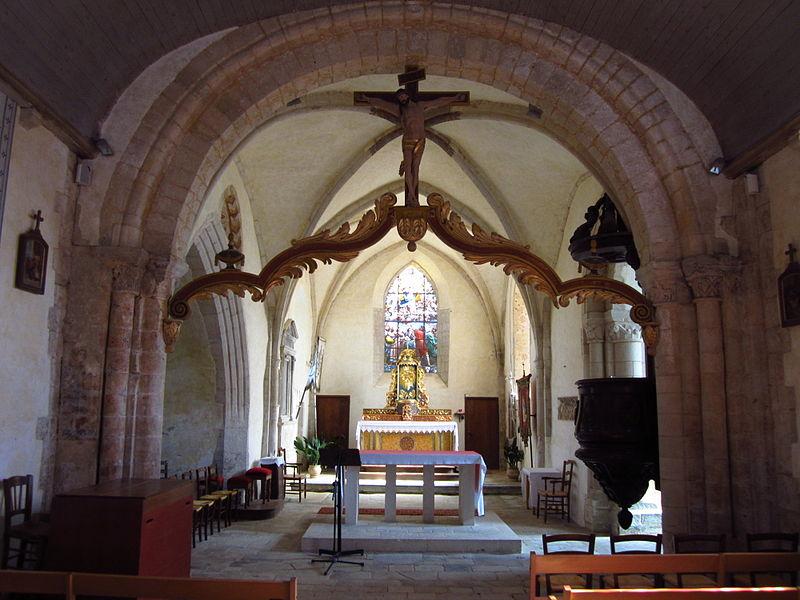 Église Notre-Dame-de-l'Assomption de fr:Tamerville (style roman)