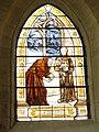 Église Saint-Paul-et-Saint-Rieul de Brenouille, vitrail.JPG