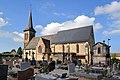 Église Saint-Remy d'Annebault. Vue sud-est.jpg