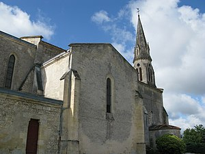 Arsac - Image: Église d'Arsac 4