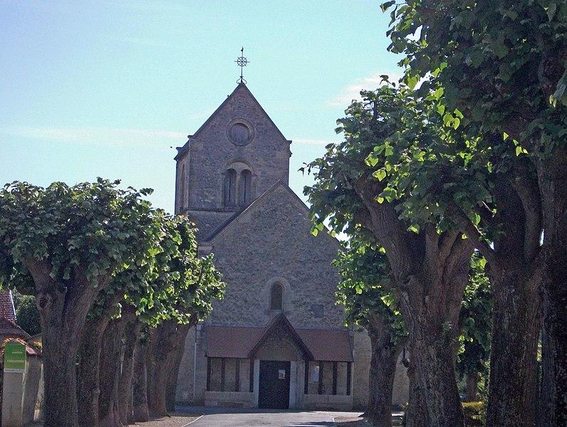 L'Église Saint Théodulphe.