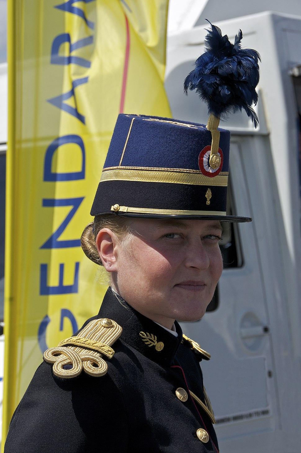 Élève-officier Gendarmerie Nationale TETRA taconnet